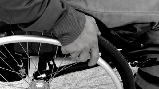 Wheelchair - sized